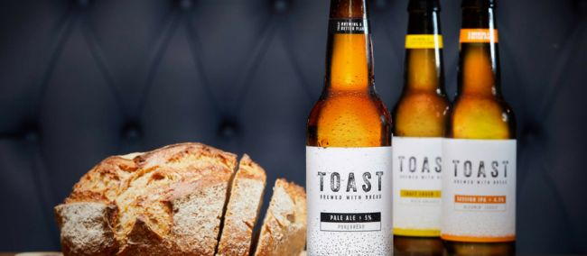 Photo for: Award-Winning Beer Brewed With Fresh Surplus Bread